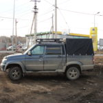 Тент на УАЗ-пикап