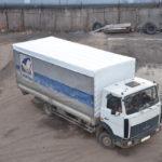 Тенты-крыши на грузовики