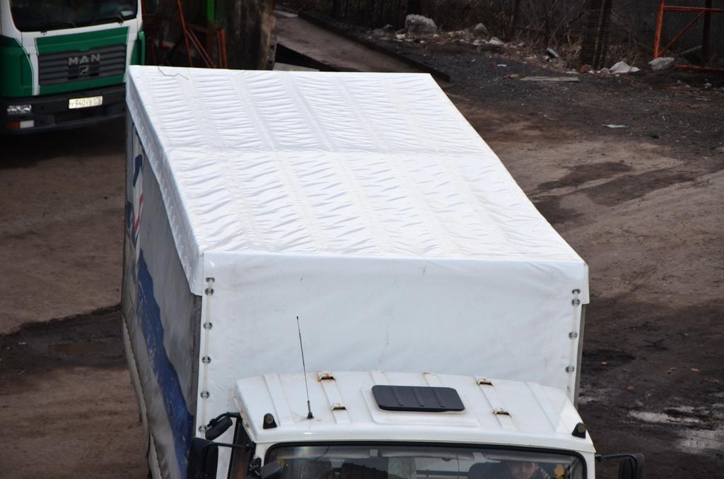 Тент-крыша на «МАЗ»