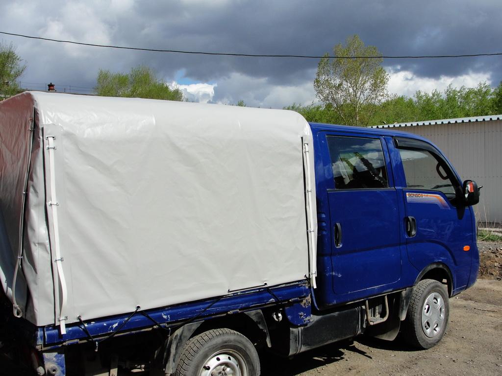 Тент на грузовик Kia Bongo