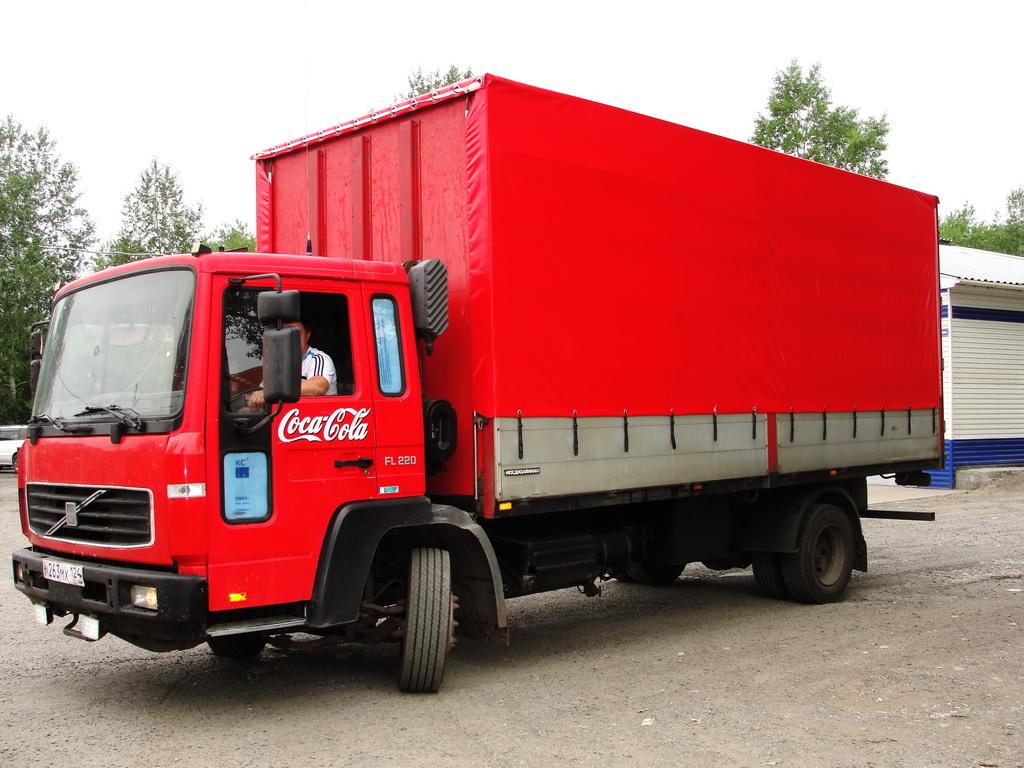 Тент на грузовик Volvo FL220