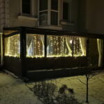 Гибкие окна для веранды таунхауса